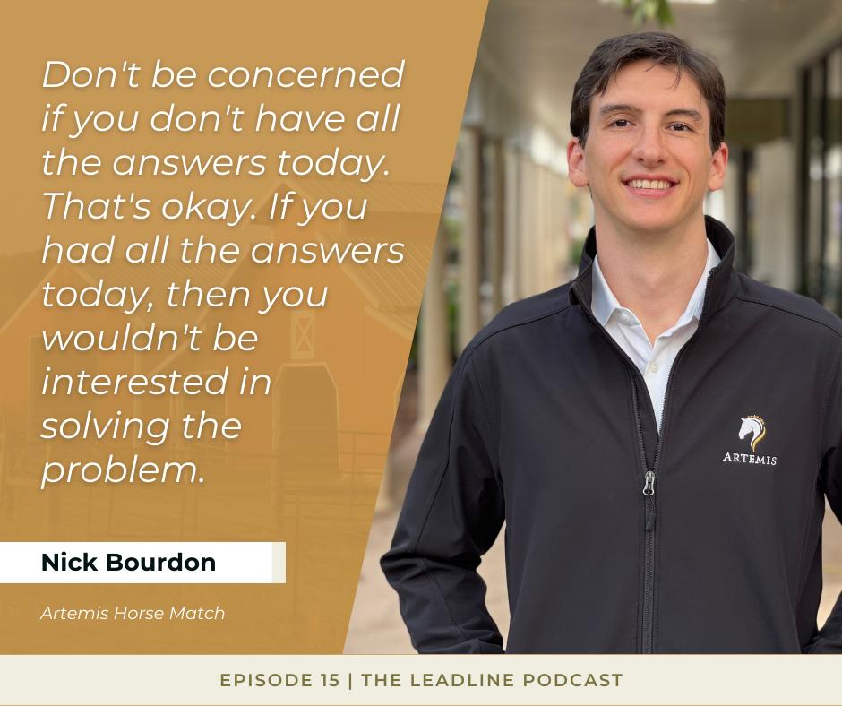 Nick Bourdon Quote